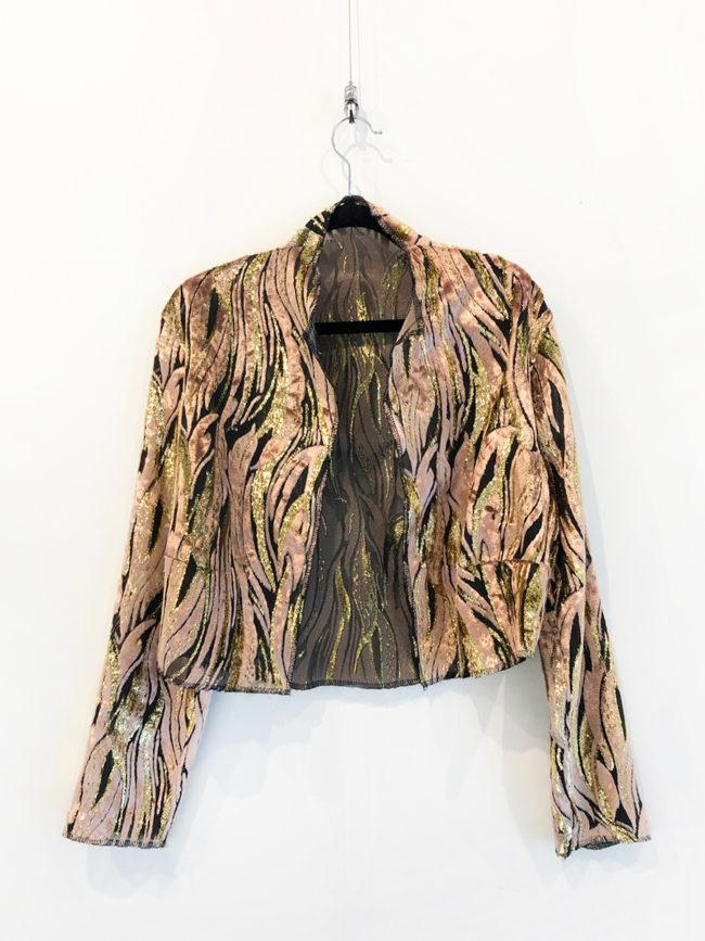 Vintage Tiger Print Jacket Brooklyn + Stellar Designer + Vintage Fashion Hire Melbourne