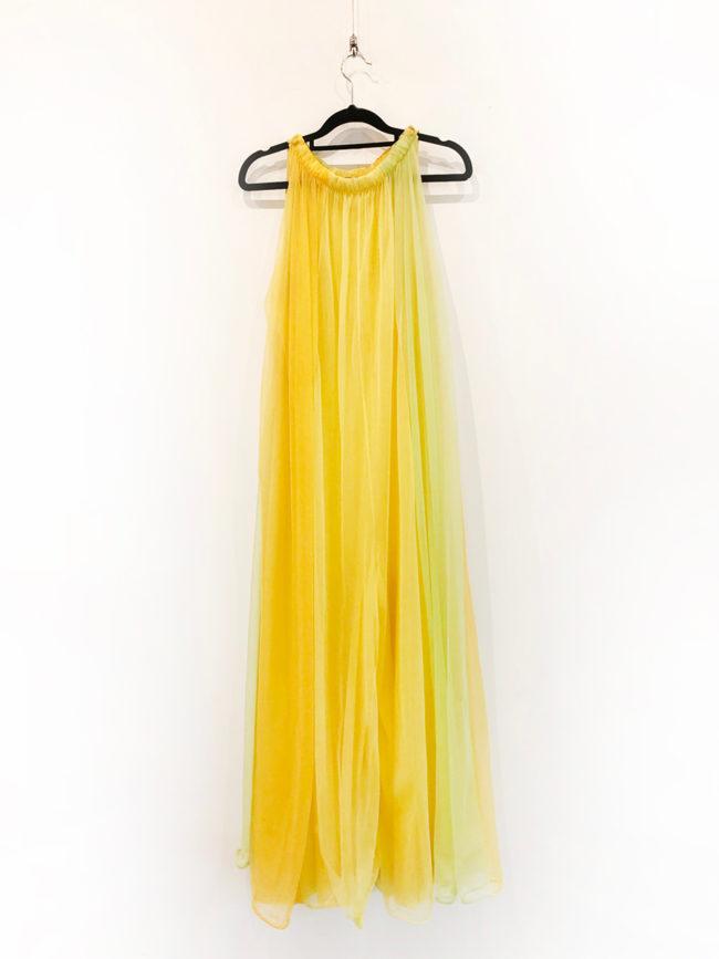 Vintage Yellow & Green Jumpsuit Brooklyn + Stellar Designer + Vintage Fashion Hire Melbourne